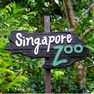 🚚 【$22.8】ZOO (Singapore Zoo E-Tickets) zoo ZOO