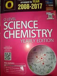 O Level Combined Science Chemistry TYS 2008-2017