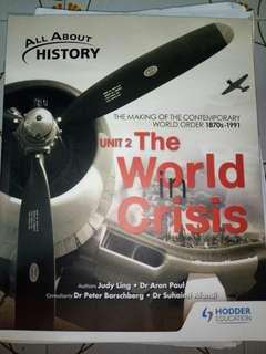 all about history unit 2 the world in crisis textbook