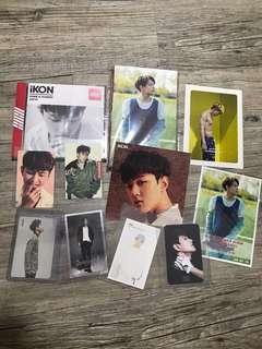 ikon donghyuk items (all official and rare!)