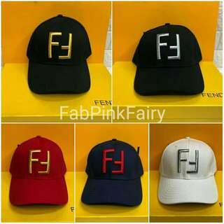 w/Box and Paper Bag CLEARANCE SALE Fendi Cap FF Cap Designer Cap Branded Cap Fendi Hat Black Cap White Cap Red Cap Jog Gym Outfit Bicycle Outfit Summer Beach OOTD Valentine's Gift GF BF Wife Husband Birthday Gift