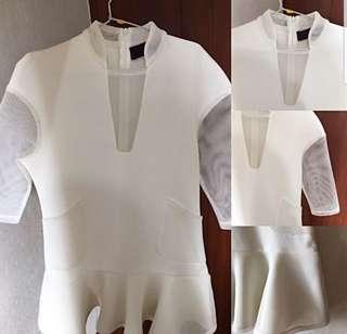 The Ramp White Dress Formal