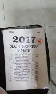Sec 4 Express E Math papers
