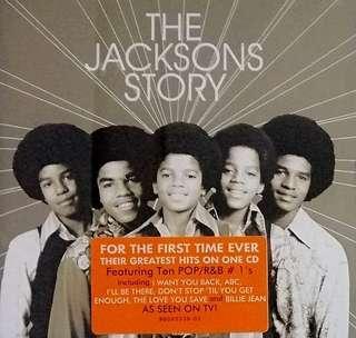 arthcd THE JACKSONS Story CD (MICHAEL JACKSON)