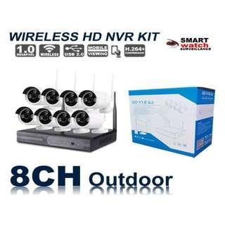 8camera wireless kit 720p