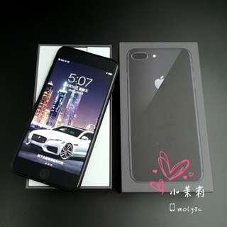 """盒裝全配 iPhone 8 Plus 256G 5.5"""" (Space Gray 太空灰) 256Gb"""