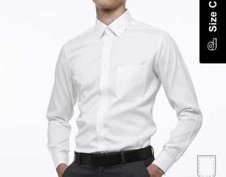 OXWHITE Slim Fit | Classic Confidence Collar