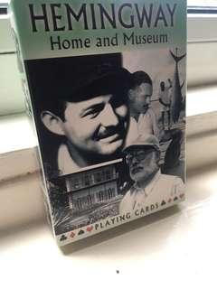 Ernest Hemingway Deck of Cards