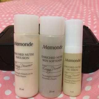 Mamonde trial kit