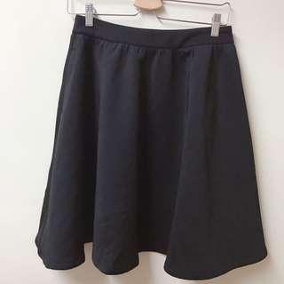 Meier Q 側口袋波浪短裙