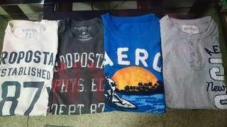 Aeropostale 4 shirts repriced