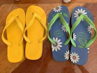 Authentic Havaianas yellow ( 400 each )