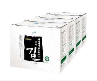 【宅配免運】艾多美 香烤海苔(小片裝) 1箱 (1箱4盒)