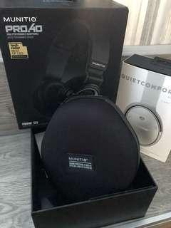 Munitio Pro40 High Performance Headphones