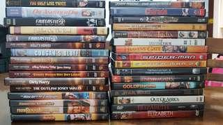 DVD movies (All Original, mostly Special Edition, Code 1)