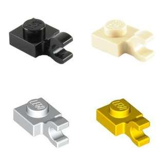 Lego Plate 1x1 with Horizontal Clip 1pc