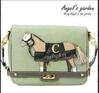 🚚 Angel's garden 小馬包 肩背包 斜背包