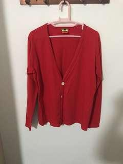 Red jacket size M