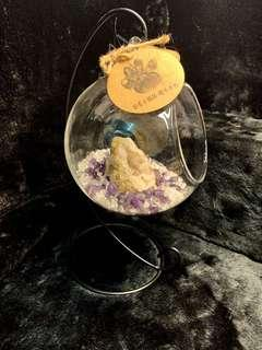 🚚 水晶消磁座(白水晶、紫水晶、雷公蛋)