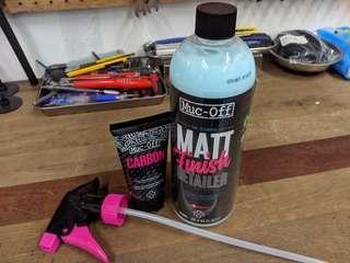 Muc Off Carbon Gripper + Matt Finish Detailer