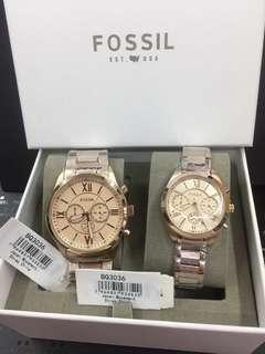 Couples Fossil Watch