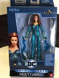 "DC Multiverse Aquaman MERA 6"" Action Figure Trench Warrior BAF Series NEW"