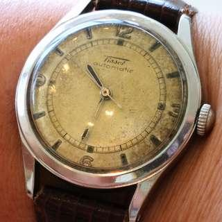 Swiss Made TISSOT Automatic Bumper watch (瑞士天梭自動撞陀機械錶)
