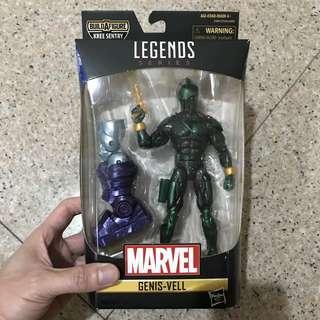 MISB Marvel Legends Series Kree Sentry BAF Wave Genis-Vell (Captain Marvel Avengers Infinity War Select)