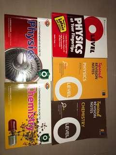 o levels pure phy/chem guidebooks