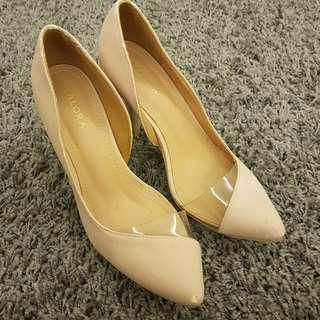 Sephora Nude pink heels