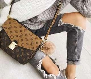 Authentic Louis Vuitton Metis Reverse