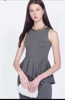Fayth Geneva Peplum Dress