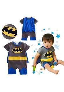 Batman Costume with Cape Romper