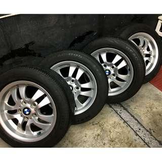 BMW 3系列 205/55R16 輪胎 有八成新