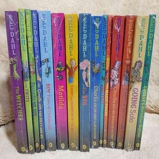 Roald Dahl's Childrens Books.