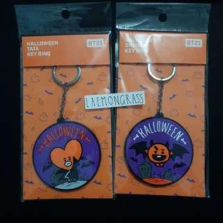 bt21 halloween limited edition keychain