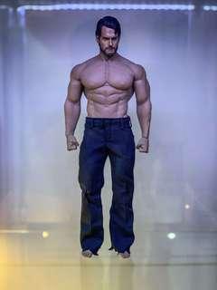 Customised beard superman