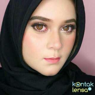 Softlens Dream Color Adele Brown Plano