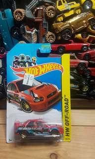 Hotwheels Subaru #CNY888