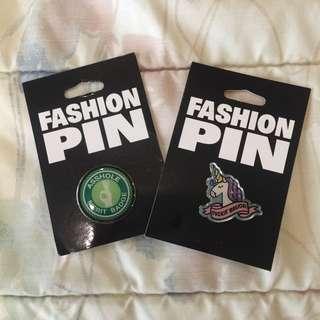 BUNDLE SALE! Snarky Pins / Badges
