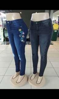 Seluar jeans 3 helai rm100