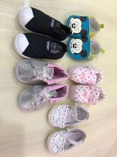 Baby Shoes (6-12 months) 5 pairs