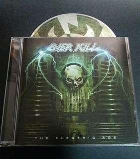 Overkill (The electric age) cd metal brand new