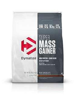 🚚 Dymatize Super Mass Gainer 12lbs