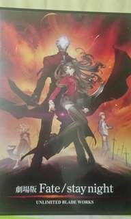 Fate stay night劇場版DVD