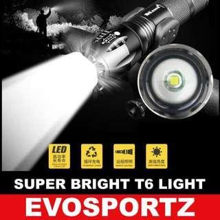 🚚 Torchlight T6 Superbright