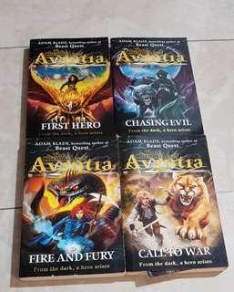 Avantia Series (by Adam Blade)
