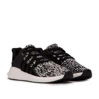 "AUTHENTIC ADIDAS EQT SUPPORT 93/17 BOOST ""BLACK GLITCH"""
