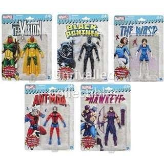 [In hand] Hasbro Marvel Legends Vintage or Retro Series Wave 2 (set of 5)
