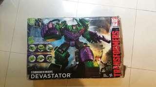 TRANSFORMERS DEVASTATOR aka CONSTRUCTION